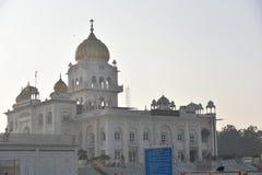 Gurudwara Bangla Sahib, New Delhi Stock Photos