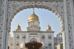 Gurudwara Bangla Sahib, New Delhi Royalty Free Stock Photos