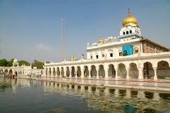 Gurudwara Bangla Sahib in New Delhi, India Stock Photo