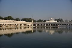 Gurudwara Bangla Sahib, New Delhi Royalty Free Stock Photography