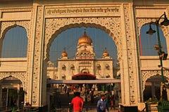 Gurudwara Bangla Sahib Nuova Delhi Immagini Stock Libere da Diritti