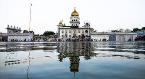 Gurudwara Bangla sahib Royalty Free Stock Images