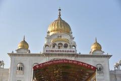 Gurudwara Bangla Sahib, New Delhi Stock Images