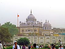 Gurudwara Dera Sahib, Lahore, Pakistan royalty free stock photography