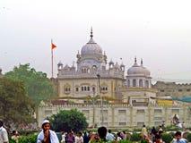 Gurudwara Dera Sahib, Lahore, Paquistão fotografia de stock royalty free