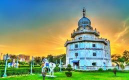 Gurudwara Guru Ka Taal, dziejowy Sikhijski pielgrzymki miejsce blisko Sikandra w Agra, India Zdjęcia Stock