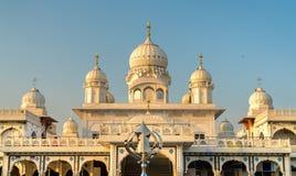 Gurudwara Guru Ka Taal, dziejowy Sikhijski pielgrzymki miejsce blisko Sikandra w Agra, India Fotografia Royalty Free