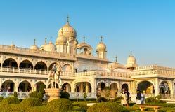 Gurudwara Guru Ka Taal, dziejowy Sikhijski pielgrzymki miejsce blisko Sikandra w Agra, India Obraz Stock