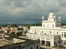 Gurudwara Mandi, Himachal Pradesh, la India Foto de archivo