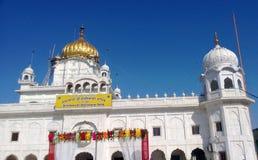 Gurudwara (Sikh Tempel) Sri Dukh Nivaran Sahib Stock Afbeeldingen