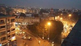 Gurumandar, fita azul, Karachi foto de stock