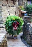 Gurung人,尼泊尔 免版税库存图片
