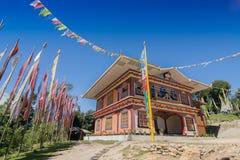 Gurung monaster przy Rinchenpong, Sikkim, India Zdjęcie Royalty Free