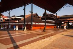 Guruvayur Devaswom, Κεράλα Στοκ Εικόνα