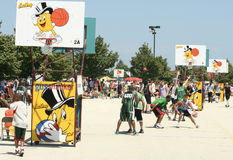 Gus Macker Tournament Stock Image