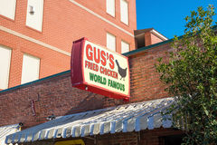 Gus`s World Famous Fried Chicken Royalty Free Stock Image