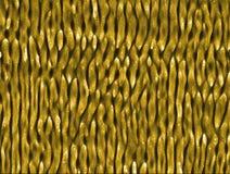 Gusano-como las estructuras creadas en el níquel por el laser ultracorto pulsa Fotografía de archivo