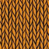Gusanos o barras estilizadas de las rayas, modelo inconsútil para la materia textil y fondo stock de ilustración