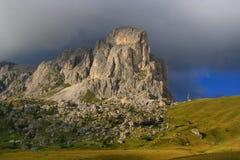 Gusela del Nuvolau image libre de droits