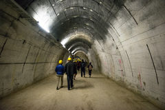 Gusen tunnel Royalty Free Stock Photos
