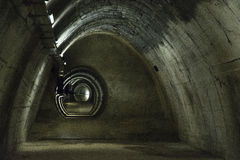 Gusen tunnel Stock Photo