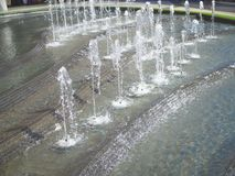 The gush of water from a fountain. Gush of water from a fountain stock images