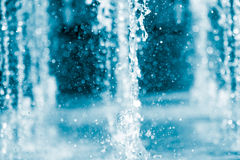 The gush of water of a fountain Royalty Free Stock Images