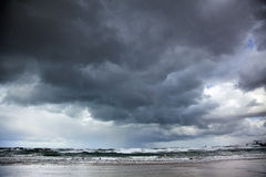 Winter Stormy Sea Royalty Free Stock Image