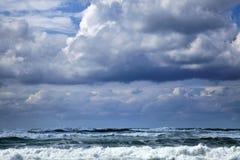 Gushing Winter Sea Royalty Free Stock Image