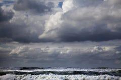 Gushing Winter Sea Stock Photography