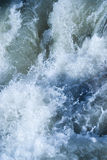 Gushing Waters. A background of violently gushing waters stock photography