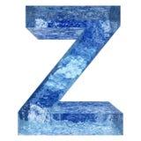 Gussteil des blauen Wassers oder des Eises colletion Lizenzfreie Stockfotos