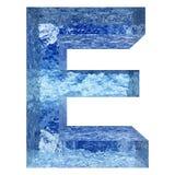 Gussteil des blauen Wassers oder des Eises colletion Lizenzfreie Stockbilder