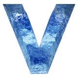 Gussteil des blauen Wassers oder des Eises colletion Lizenzfreie Stockfotografie