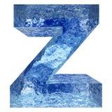 Gussteil des blauen Wassers oder des Eises colletion Stockbild
