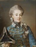 Gustaf Lundberg (1695–1786): Baroness Ulrica Fredrika Cedercreutz / Vapaaherratar Ulrica Fredrika Cedercreutz / Friher Stock Photo