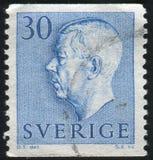 Gustaf VI Adolf Lizenzfreies Stockbild