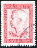 Gustaf VI Adolf Lizenzfreies Stockfoto