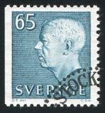 Gustaf VI Adolf Lizenzfreie Stockbilder