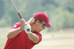 Gustaffson,LPGA golf Tour, Stockbridge, 2006 Stock Image