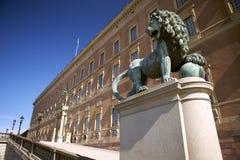 gustav μνημείο Στοκχόλμη Σουη&del Στοκ Φωτογραφίες