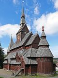 Gustav Adolf Stave Church Royalty Free Stock Photography