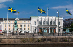 Gustav Adolfs Torg Gothenburg Royalty Free Stock Photos
