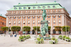 Gustav Adolfs torg, Stockholm, Sweden Stock Images