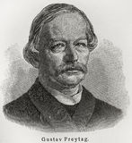 Gustav Freytag Immagini Stock