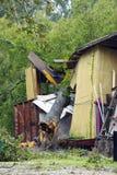 gustav hurricane στοκ εικόνες