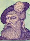 Gustav I van het portret van Zweden Royalty-vrije Stock Afbeelding