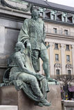 Gustav II Adolf, Statue durch Archeveque, Stockholm Lizenzfreies Stockfoto