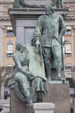 Gustav II Adolf Statue durch Archeveque, Stockholm Stockfoto