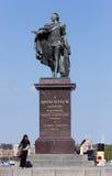 Gustav III statue Royalty Free Stock Photo
